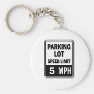Handicap Insignia - Parking Lot Speed Limit Keychain