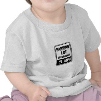 Handicap Insignia - Parking Lot Speed Limit Tshirts