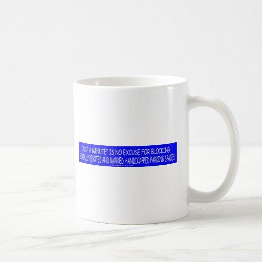 HANDICAP PARKING 5 CLASSIC WHITE COFFEE MUG