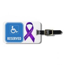 Handicap Parking Sign Luggage Tag
