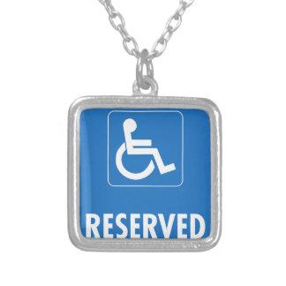 Handicap Parking Sign Custom Jewelry