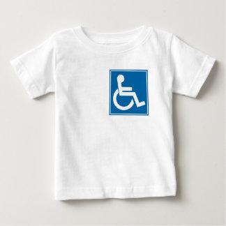 Handicap Sign Baby T-Shirt