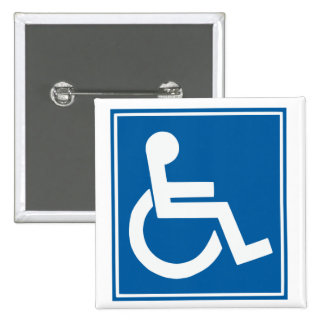 Handicap Sign Button