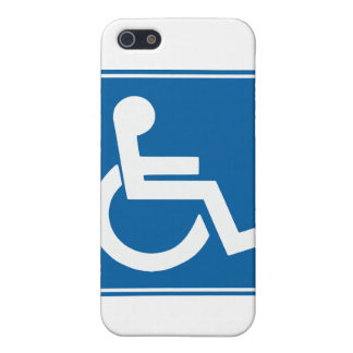 Handicap Sign Cover For iPhone SE/5/5s