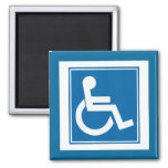Handicap Sign Magnet