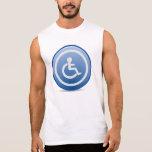 Handicap Sign Sleeveless Shirt