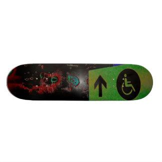 Handicap Skate Board