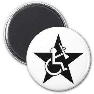 Handicapable 2 Inch Round Magnet