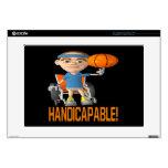 Handicapable 2 laptop skin