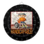 Handicapable 3 dart board