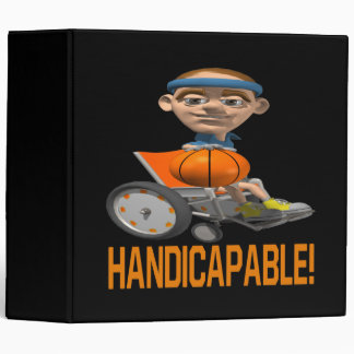 Handicapable 3 Ring Binder
