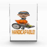 Handicapable Acrylic Award