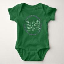 Handicapable babys love baby bodysuit