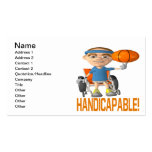 Handicapable Double-Sided Standard Business Cards (Pack Of 100)
