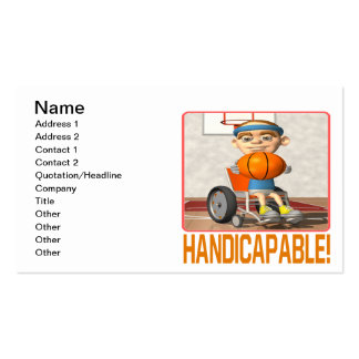 Handicapable Business Cards