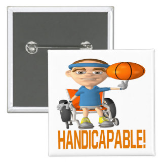 Handicapable Pinback Buttons