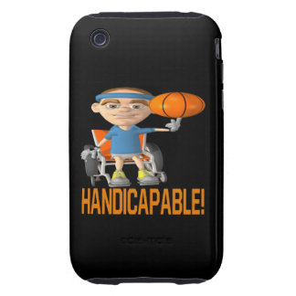 Handicapable Tough iPhone 3 Cover