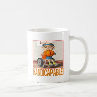 Handicapable Classic White Coffee Mug