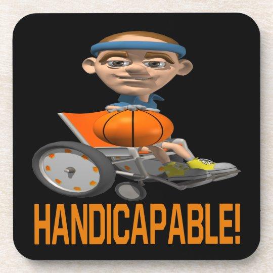 Handicapable Coaster
