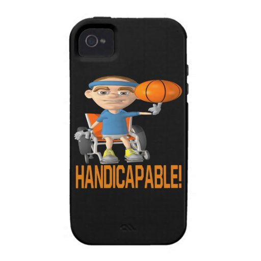 Handicapable iPhone 4/4S Cover