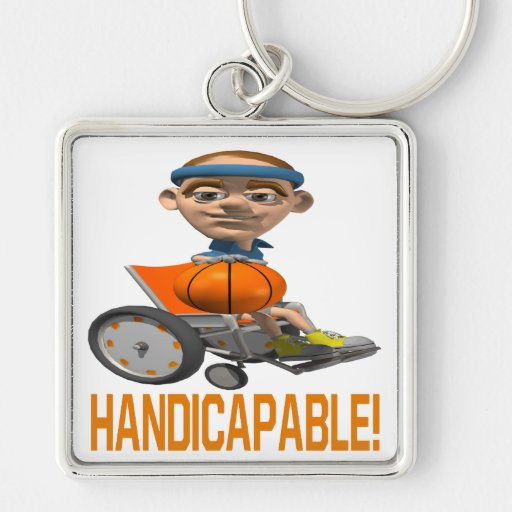 Handicapable Keychains