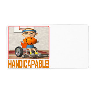 Handicapable Shipping Label