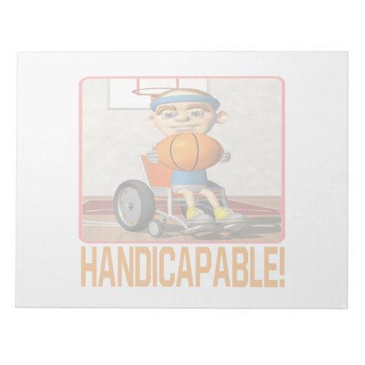 Handicapable Memo Note Pad