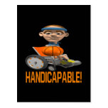 Handicapable Post Cards
