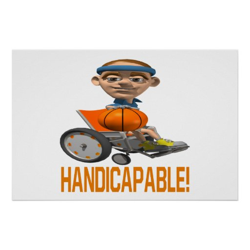 Handicapable Poster