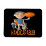 Handicapable Rectangle Magnets