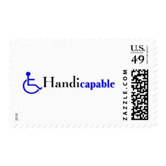 Handicapable (silla de ruedas) sello