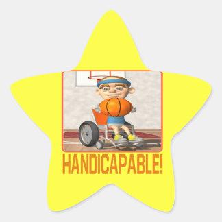 Handicapable Star Sticker