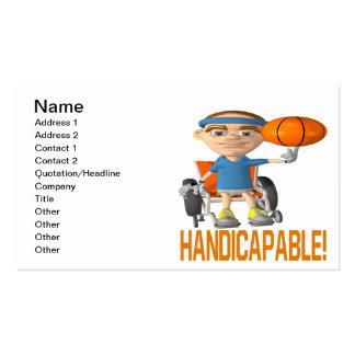 Handicapable Tarjeta De Visita