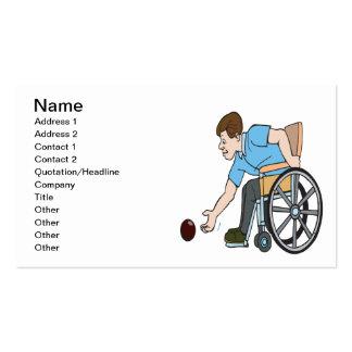 Handicapable Plantillas De Tarjetas De Visita