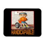 Handicapable Vinyl Magnets