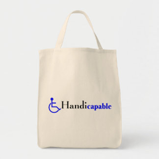 Handicapable (Wheelchair) Tote Bag