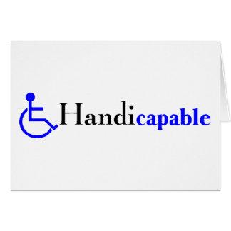 Handicapable (Wheelchair) Card