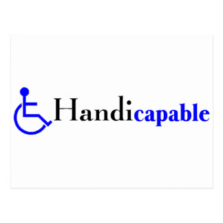 Handicapable (Wheelchair) Post Cards