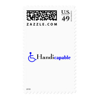 Handicapable (Wheelchair) Stamp