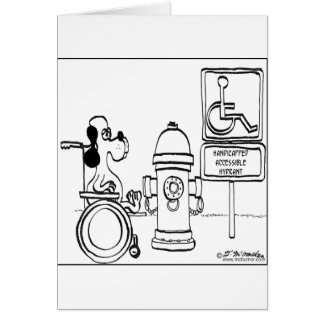 Handicapped Accessible Hydrant Card