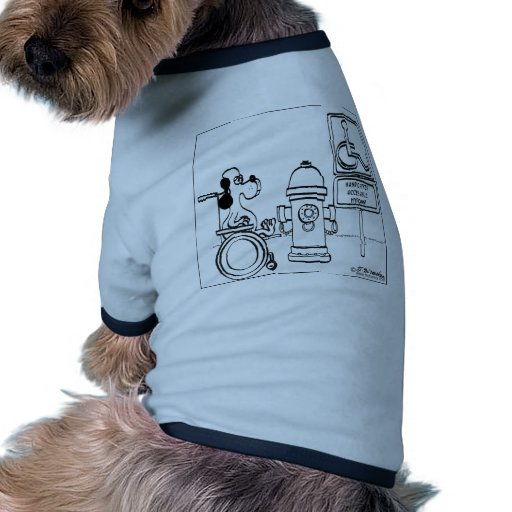 Handicapped Accessible Hydrant Doggie Tee