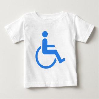 Handicapped blue design! baby T-Shirt