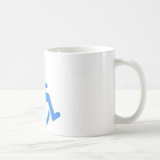 Handicapped blue design! mug