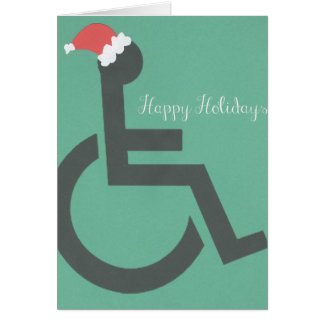 Handicapped Christmas Card