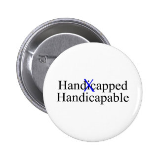 Handicapped Handicapable 2 Inch Round Button