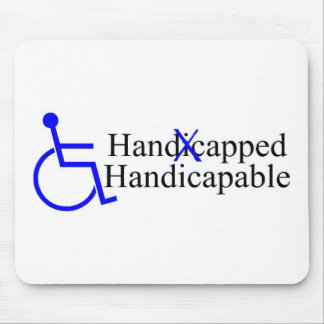 Handicapped Handicapable 2 Mouse Pad