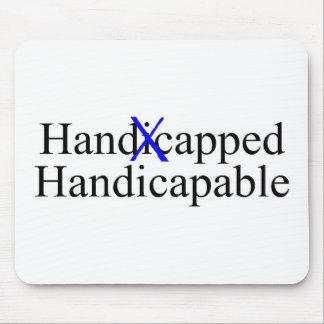 Handicapped Handicapable Mouse Pad