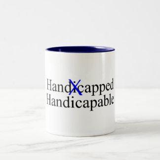 Handicapped Handicapable Coffee Mug