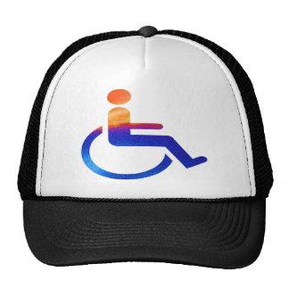 HANDICAPPED TRUCKER HAT