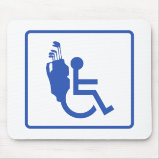 Handicapped Mouse Pad